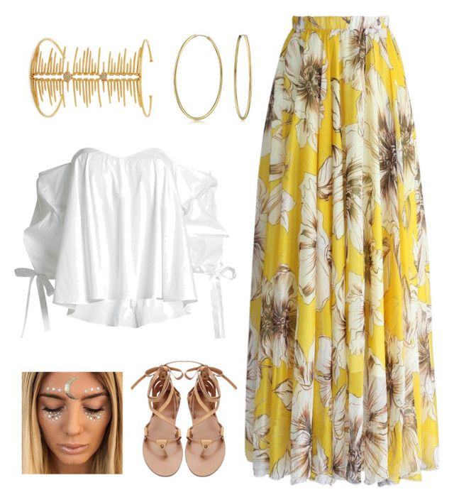 """""""Music Festival"""" by lupekay on Polyvore featuring Caroline Constas, Chicwish, Bling Jewelry and Joanna Laura Constantine"""