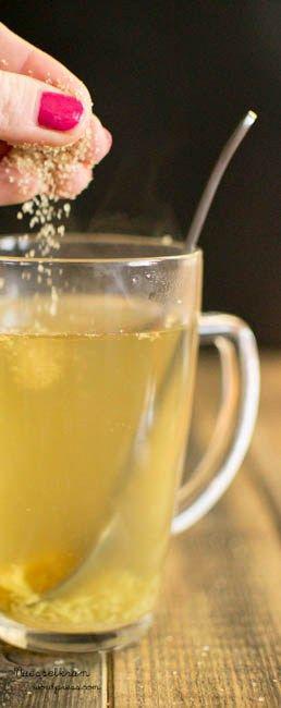 Ingwertee trinken wir am liebsten