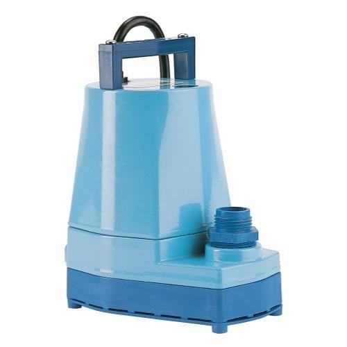 Little Giant 5-MSP Submersible Pump Blue 1200 GPH (4/Cs)