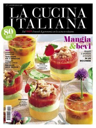 La cucina italiana luglio 2016 ma