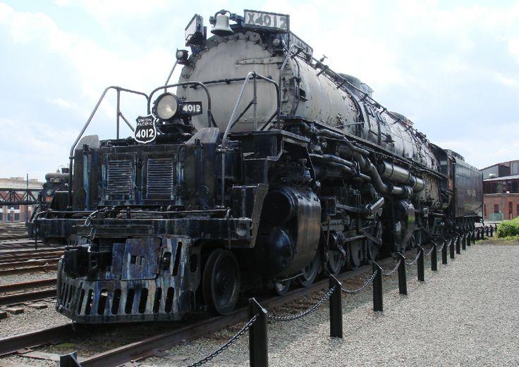 Union Pacific Big Boy at Steamtown, Scranton, Pennsylvania