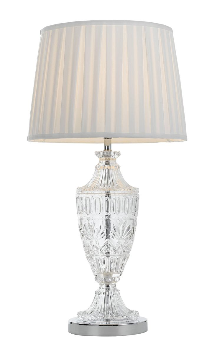 Features Sigrid Table Lamp  Finishes Chrome