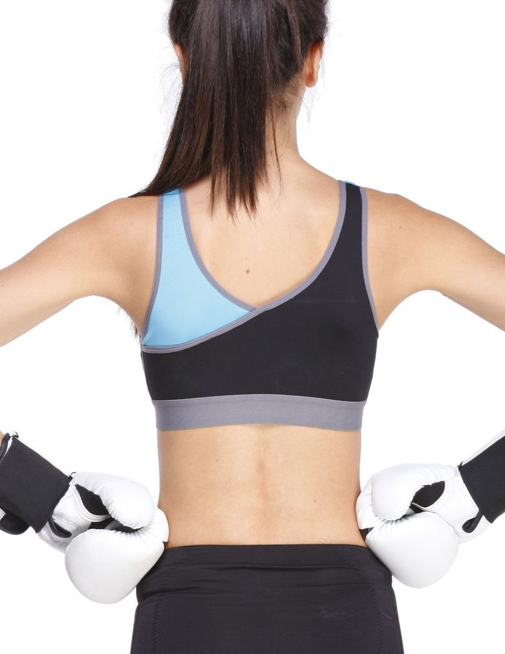 Yvette Zip Front Closure Sports Bra High Impact(One Size
