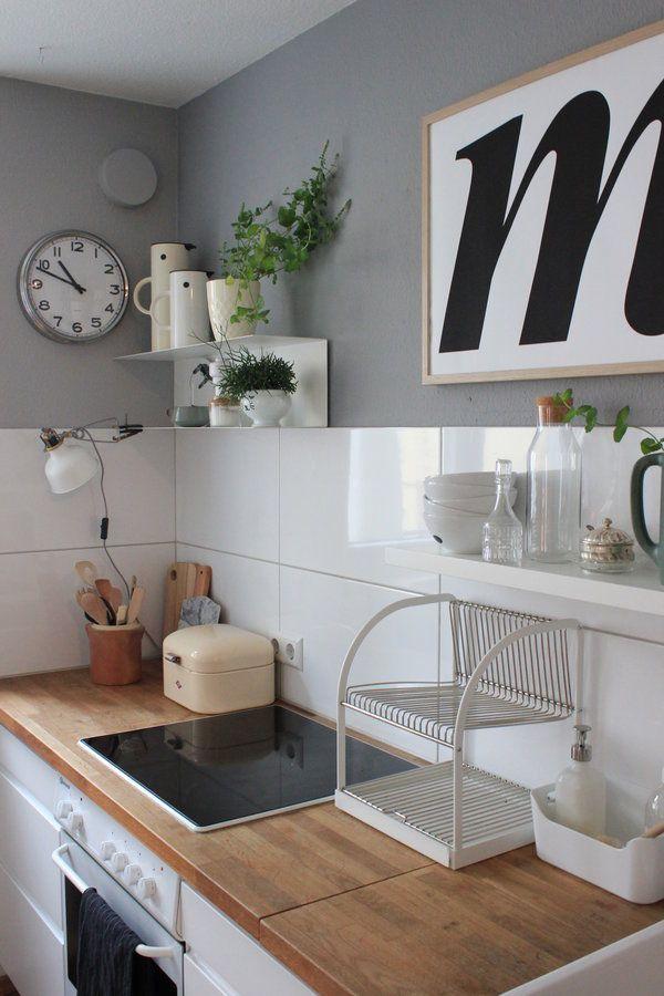 Die besten 25+ Küche fliesenspiegel gestalten Ideen auf Pinterest - spritzschutz mit kuchenruckwand 85 effektvolle ideen