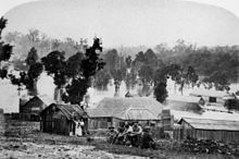 Gympie residents head for higher ground during the flooding in 1870 - Wikipedia, the free encyclopedia