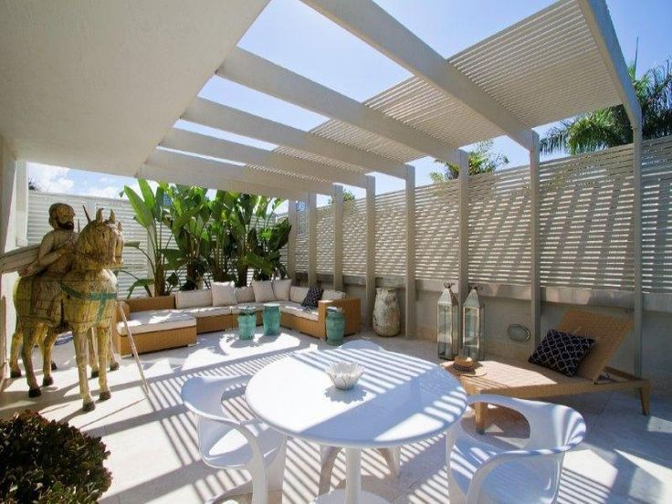 #patio Outdoor living design with pergola from a real Australian home - Outdoor Living photo 206974