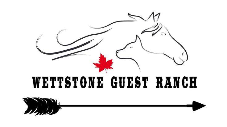 Logo für die Wettstone Guest Ranch --- #logo #logodesign #design #grafikloft #grafik #graphic