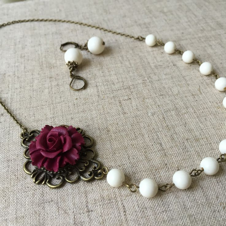A personal favorite from my Etsy shop https://www.etsy.com/listing/230694558/ivory-pearl-earrings-and-necklace-with