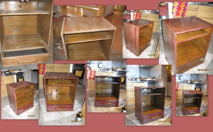 hand painted furniture MUEBLE RESTAURADO
