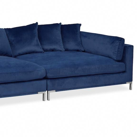 Moda 2-Piece Sofa - Blue Value City Furniture and Mattresses