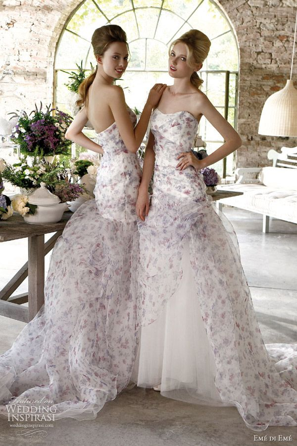 Emé di Emé Wedding Dresses 2012 — Provençal Atmosphere Bridal Collection   Wedding Inspirasi