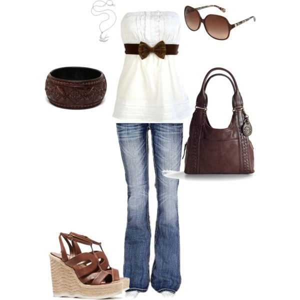 so casual & classy :) love this top!
