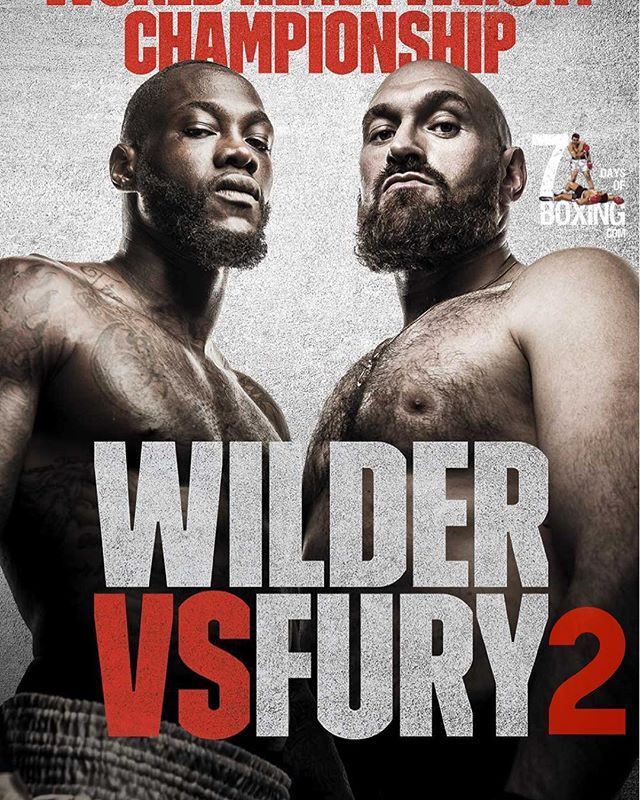 Deontay Wilder vs Tyson Fury rematch is to take place at