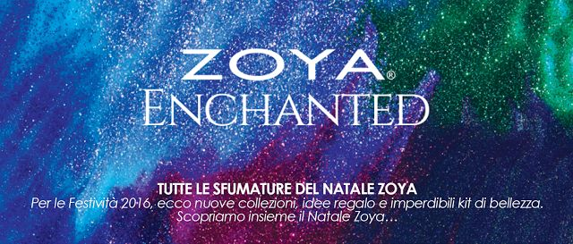 Sweety Reviews: [CS] Natale con Zoya, nella collezione Enchanted Holiday 2016