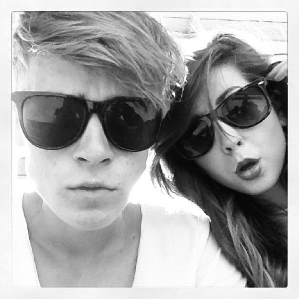 Zoella and joe.. love them both!<3