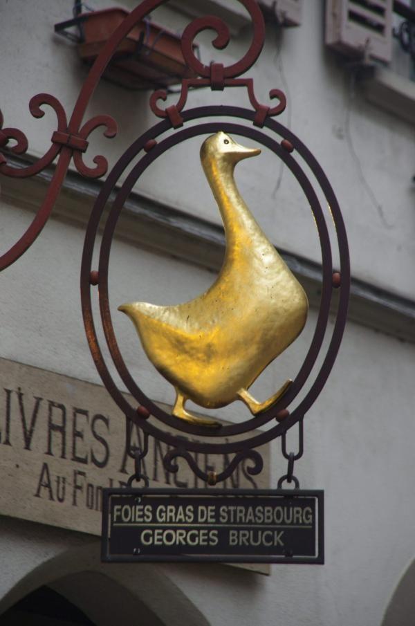 Foie gras de Strasbourg.                                                                                                                                                     Mais