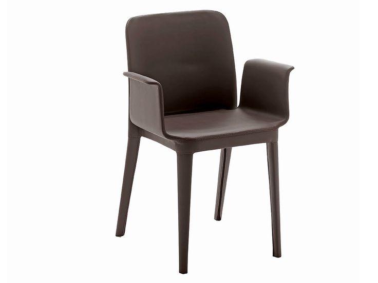 Sedia in polipropilene con braccioli Collezione Nené by Midj | design Paolo Vernier