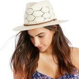 Open Weave Straw Hat w/ Band