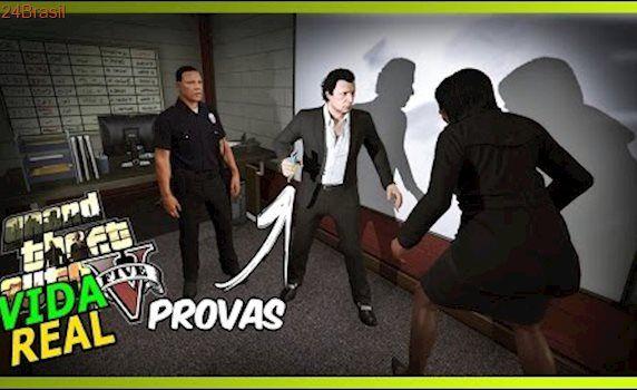 GTA V : VIDA REAL 🔴NLINE - EU TENHO PROVAS QUE SOU INOCENTE !! #89