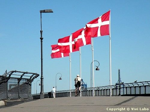 The Kingdom of Denmark is located in northern Europe. It's the smallest of the three Scandinavian countries. The other two are Sweden and Norway. Nearly five and a half million people live here.