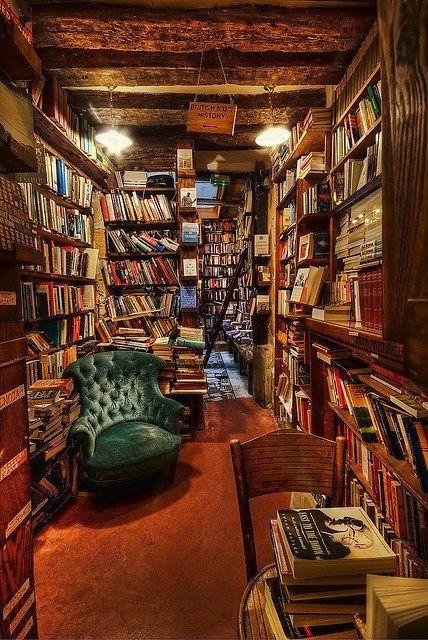 steampunk home decor | Steampunk Dream Home Decor / Perfect little book room! I'd never come ...