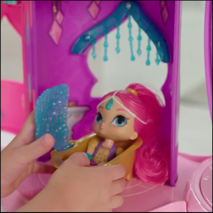 ToysRus - Fisher Price Shimmer and Shine Magical Genie Dream Palace Video