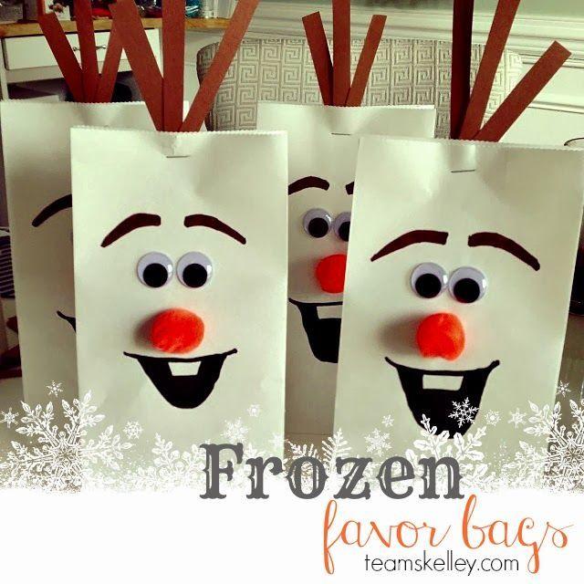 30 Idéias Lindas para Festa Frozen