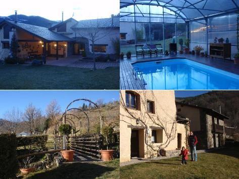 Near la Molina hotel for ski Antigua casa solariega rehabilitada para ofrecer servicios de hosteleria de primer nivel junto con una variada oferta de ocio para pequeños y mayores