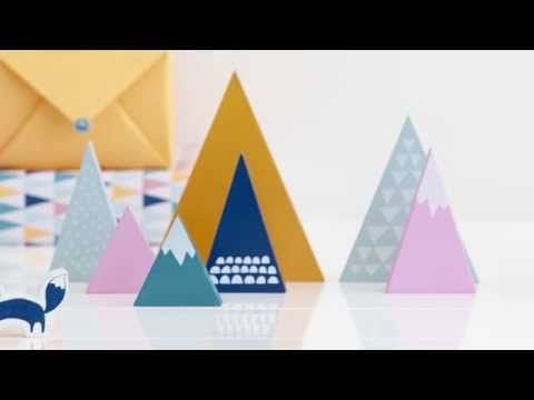 """See the kikki.K Mountains Collection Come to Life. Excellent use of stop motion animation - see how the slogan """"escape to the mountains"""" sets the tone of the ad?"""
