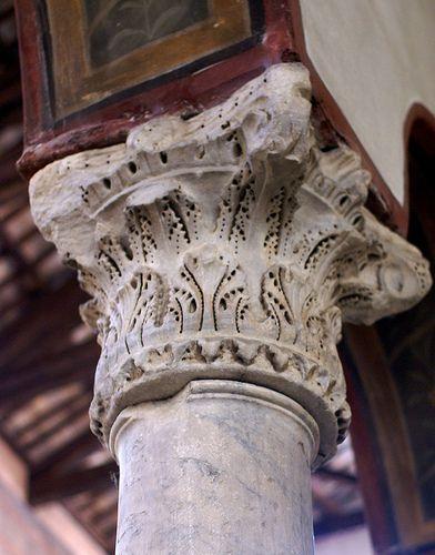 Composite Order: Santa Maria in Cosmedin, Rome, Italy.