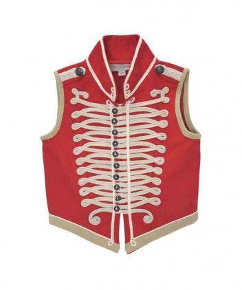 Stella McCartney kids rood military jacket