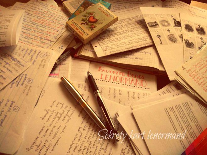 journaling lenormand