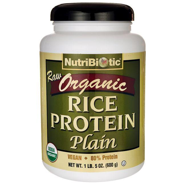 Raw Organic Rice Protein Plain. 1 lb 5 oz (600 grams) Pwdr AED331.00 | Raw organic. Rice protein. Organic rice