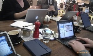 Which is the better workspace? Cafe or office?