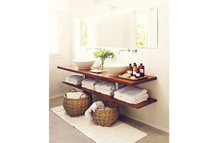 17 mejores ideas sobre decoraci n de la toalla de ba o en - Muebles para toallas ...
