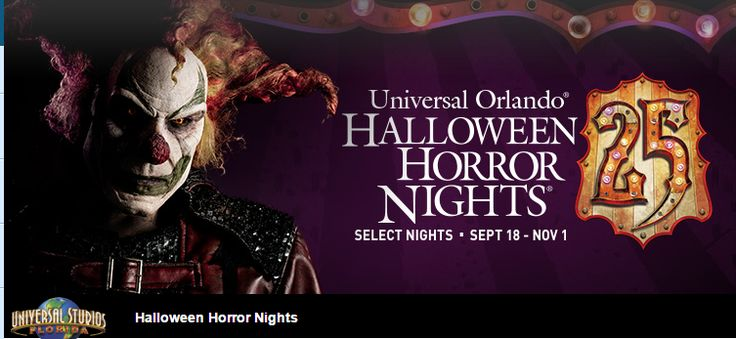 "Universal Orlando's Halloween Horror Nights-First ""Icon"" Released!"