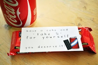 "have a coke and ""take 5"""