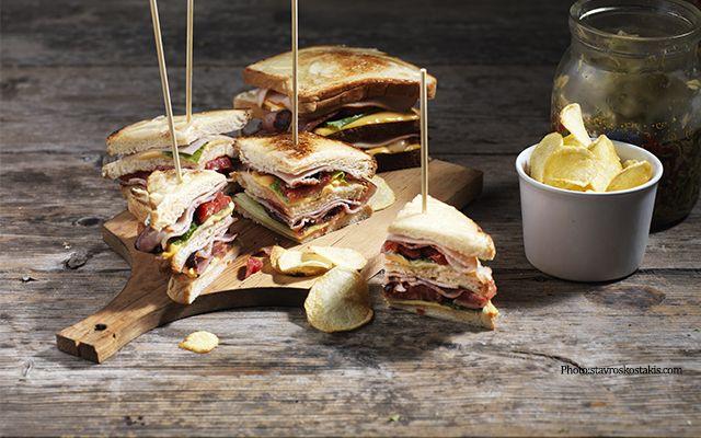 A special club sandwich !