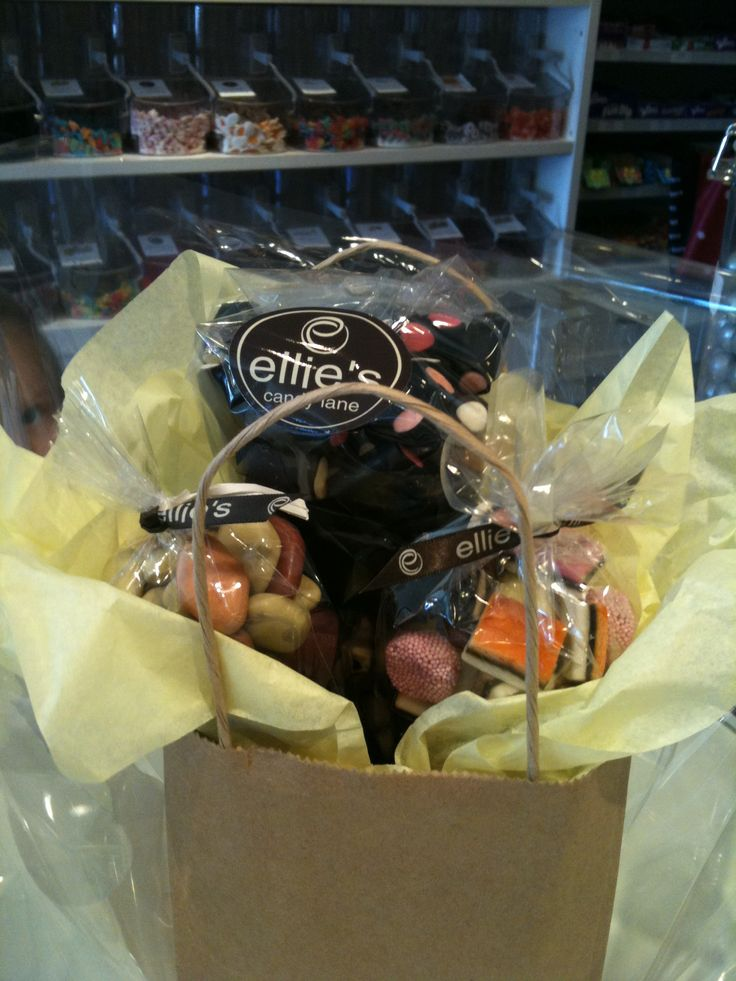 We can also make cute gift bags for you! Whether it's for a present or as a substitute goody bag.