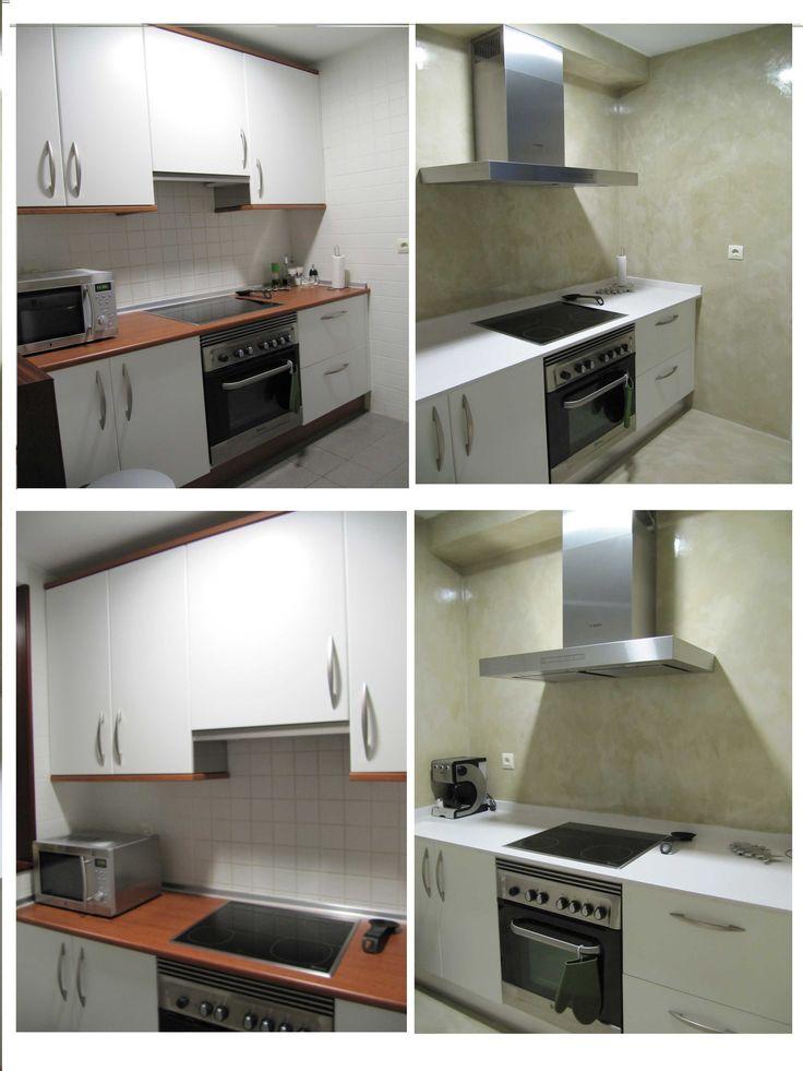 22 best cocinas para pisos peque os images on pinterest Cocinas pisos pequenos