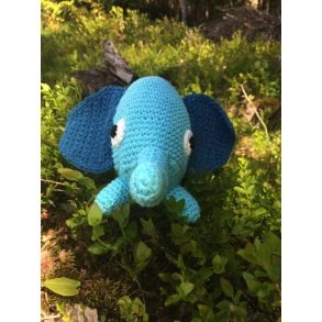 Sebra Heklet Elefant
