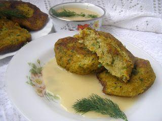 W Mojej Kuchni Lubię.. : kotlety z kalafiora z sosem jasnym...