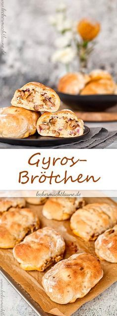 Schnell gemacht und super lecker: Gyros-Brötchen!
