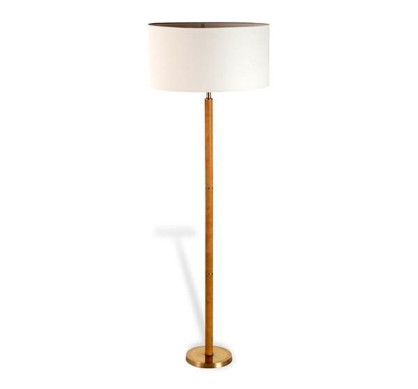 Sale 572 99 leather 57h floor lamp tan gratsdecor com