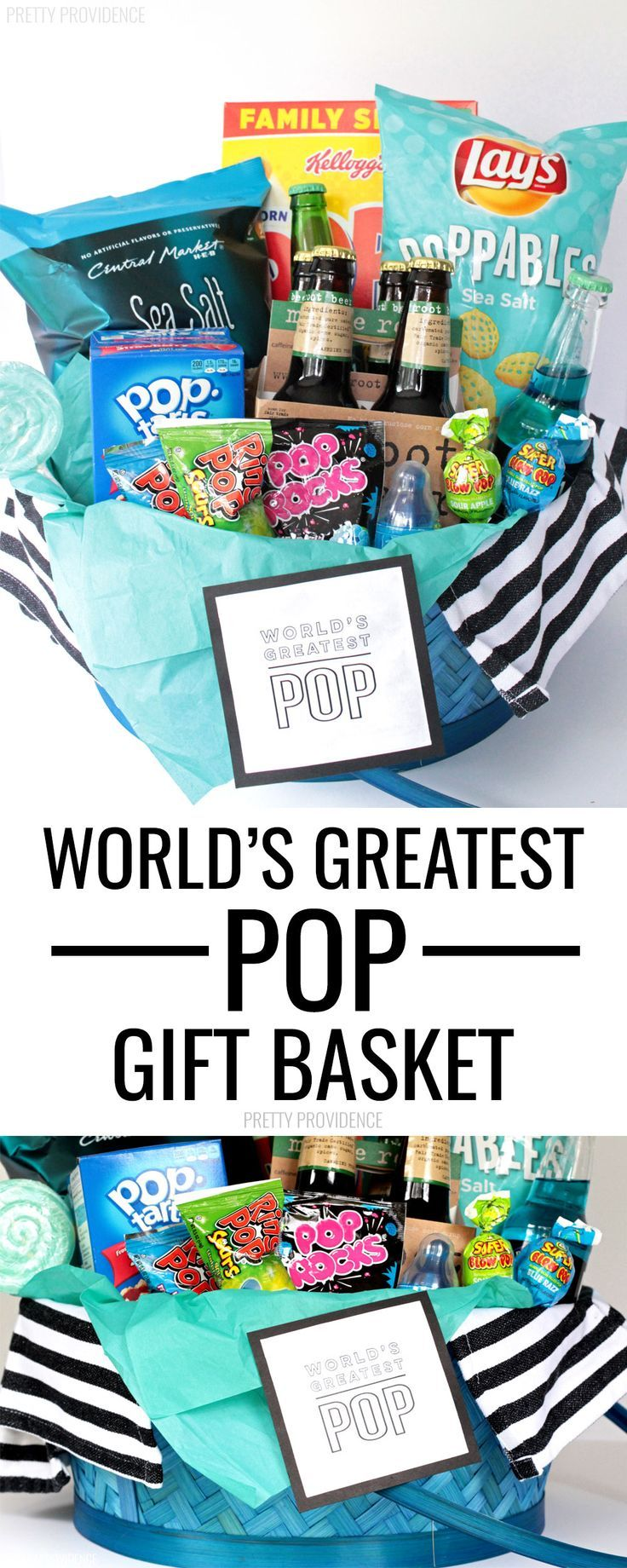 Worlds Greatest Pop Gift Basket Idea This Is A Great New Dad Or Perfect For Fathers Day Your POP Will Love It