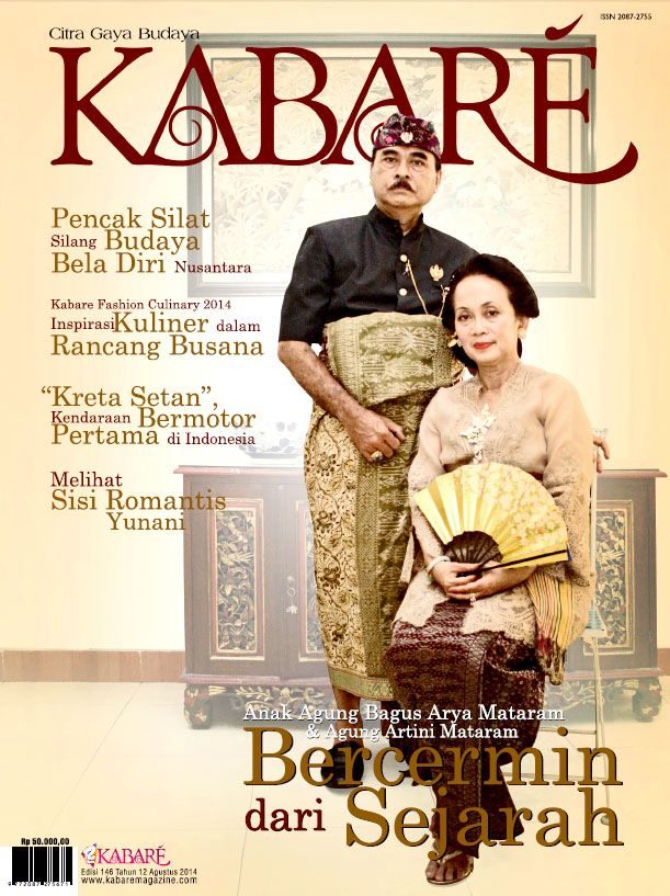 Kabare Magazine edisi Agustus 2014