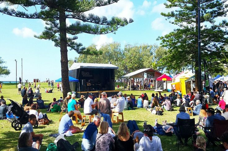 Broadbeach Blues Festival in May, Gold Coast, Australia