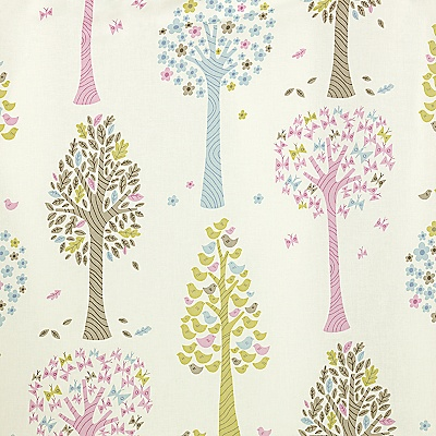 Buy John Lewis Magic Trees Pencil Pleat Curtains, Multi, Pair online at JohnLewis.com - John Lewis