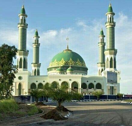 Masjid Agung Sangatta, Kalimantan Timur, Indonesia