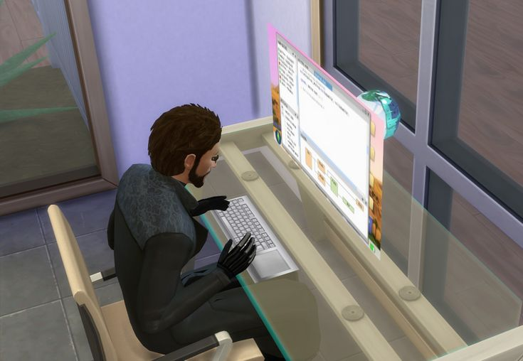 Holographic Computer | Sims 4 Updates -♦- Sims Finds & Sims Must Haves -♦- Free Sims Downloads